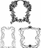 Decorative wreaths as frames