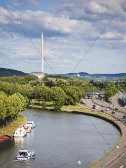 power-plant Saarbruecken