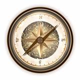 Vinatge antique compass