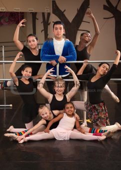 Ballet Class Portrait
