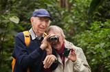 Senior Couple with Binoculars