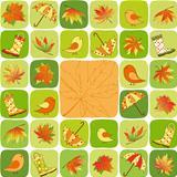 Colorful Autumn illustration