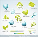 Eco related symbols and icons