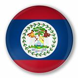 Badge with flag of Belize