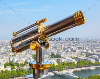 Eiffel Tower telescope