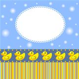 Background with duck for little boy