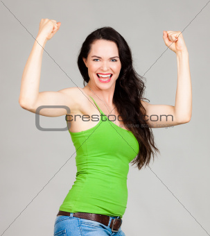 Fit and healthy woman