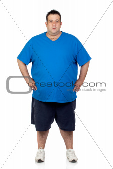 Seriously fat man