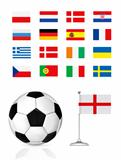 Euro Shedule flags