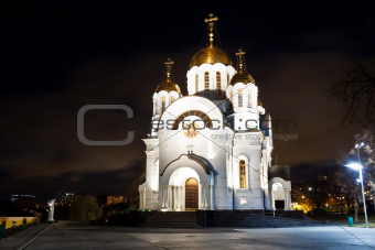 Church of George Victorious in Samara, Russia