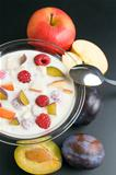 Yogurt with fruits