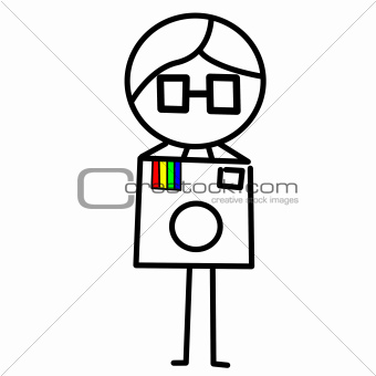 guy with a camera