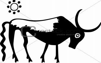 Ancient Greece bull