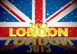 London 2012 modern flag