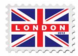 London 2012 stamp