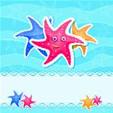 Colourful Starfish