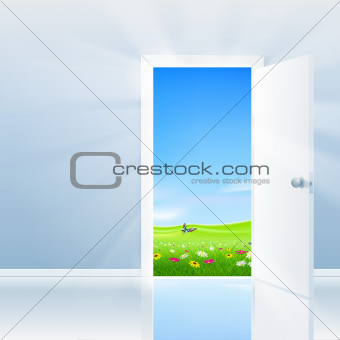 Open Door To Nature