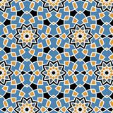 Arabesque seamless pattern