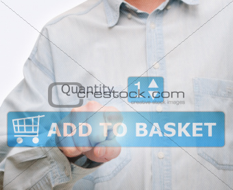 Pushing Add to Basket Button