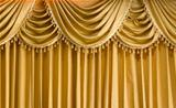 Light Gold fabric Curtain