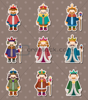 king stickers