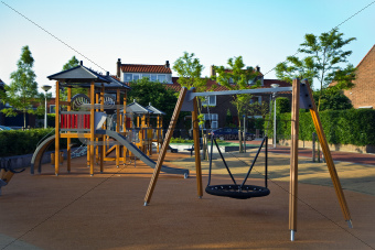 Safe playground for young children