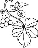Decorative vine element