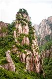 Huangshan mountain peak