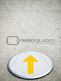 yellow pointer