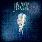 abstract grunge jazz background