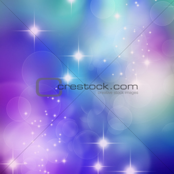 bokeh blurred lights background