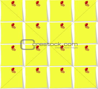 Seamless background with yellow paper