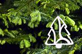 Tree shape Christmas ornament