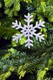 Snow flake shape Christmas ornament