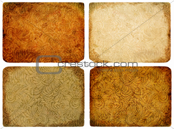 A collection of abstract vintage background.