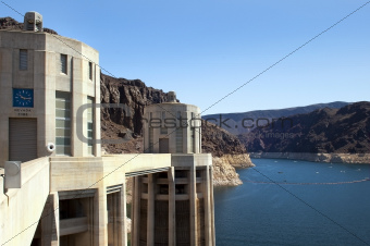 Lake  Mead and Hoover Dam