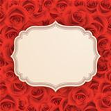 Greeting card with rose