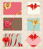 Bows Collection with vintage