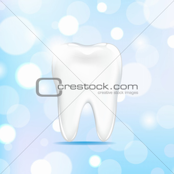 Tooth With Bokeh