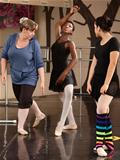 Ballet Students And Teacher