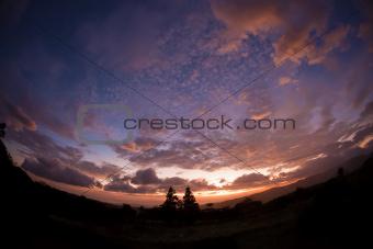 Fisheye Lens Cloudscape