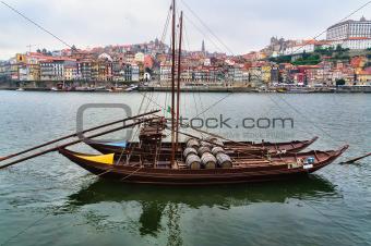 Panorama of Duoro River, Porto