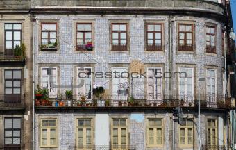 Old houses, Porto, Portugal