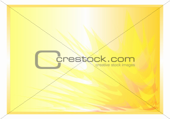 yellow background abstract rays
