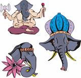 Elephants of Ganesha