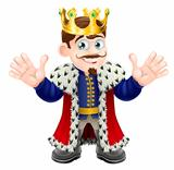 Cute king man