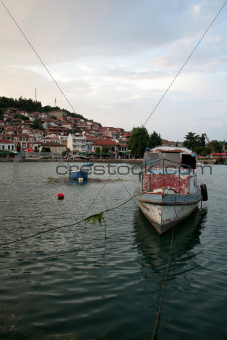 Ohrid harbour