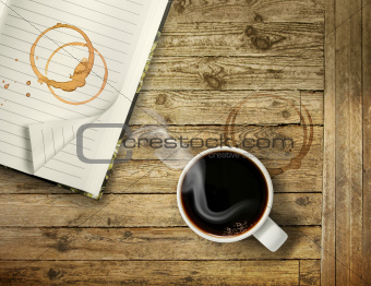Start morning with strong coffee