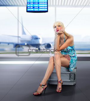 passenger misses at airport