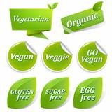 Vegan Labels Big Set